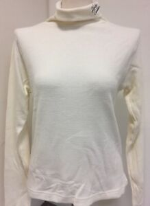Harley-Davidson-Women-039-s-Off-white-Thermal-waffle-knit-Turtleneck-Small-New