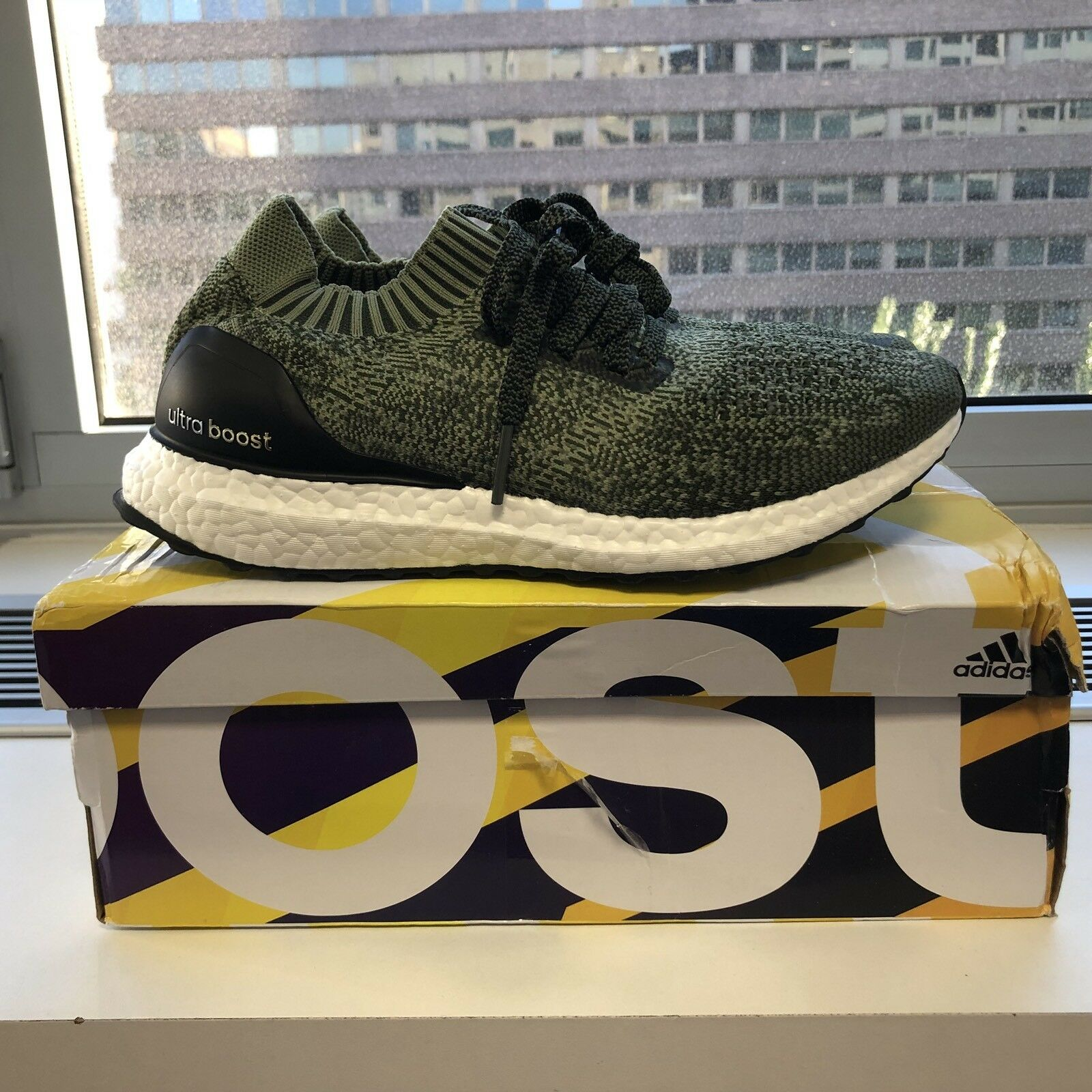 ADIDAS ULTRA BOOST Uncaged m. US 8  UK 7 1 2 EU 41 1 3 Limited Edition. BB3901.