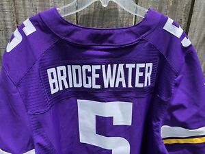 newest 6d6a3 e0007 Men's Nike Minnesota Vikings Teddy Bridgewater Football ...
