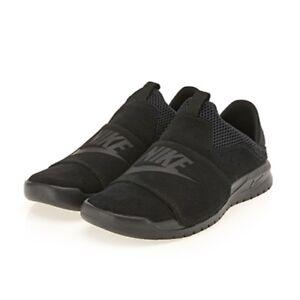 2baacdeca35712 New Nike Men s Benassi SLP Slip on Sneakers Shoes - Black(882410-003 ...