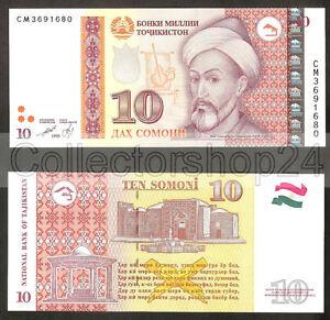 Tajikistan-10-Somoni-2013-Unc-pn-New