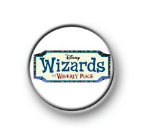 "WIZARDS OF WAVERLY PLACE / 1"" / 25mm pin button / badge / Selena Gomez / Alex"