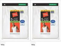 10 Hanes Men's A-shirt Undershirt Tank Wife Beater 2xl - 3xl Best Seller
