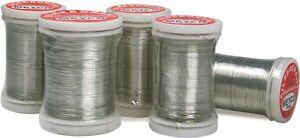Silberdraht-mit-Kupferkern-0-25mm-Schmuckdraht-Perlenfaedeldraht-100m-28258