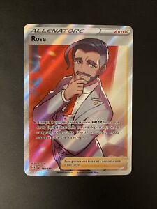 Pokemon Scudo E Spada Fiamme Oscure  Rara Foil Holo Full Art 189/189 Rose