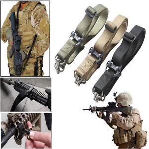 Tactical-Quick-Detach-QD-1-2-Point-Multi-Mission-Rifle-Nyon-Sling-Swivel-Set