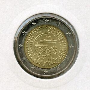 Deutschland 2 Euro Münze 2015 25 Jahre Deutsche Einheit G