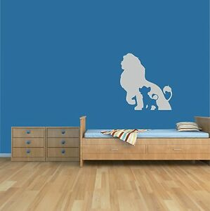 Image Is Loading Lion King Wall Art Sticker Home Decor Children