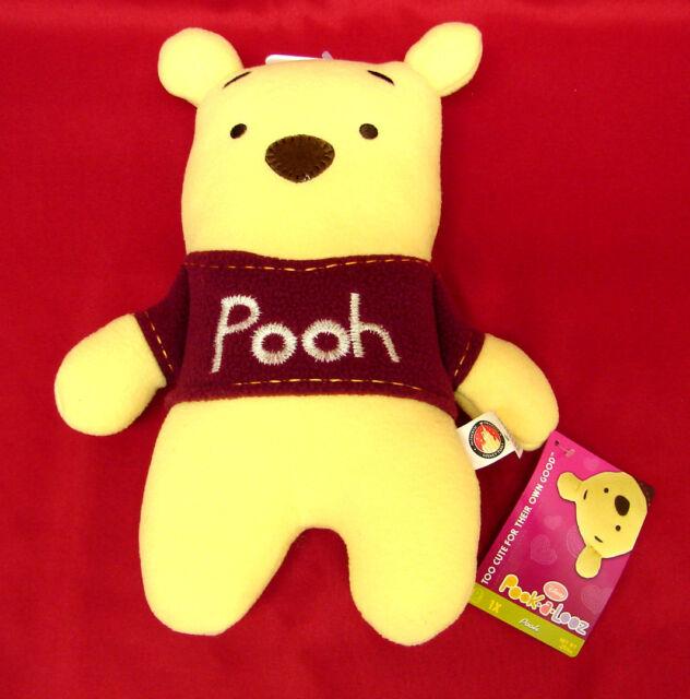 Pook a Looz Pookalooz Disney Plush Figure Winnie The Pooh Bear New with Tag NWT