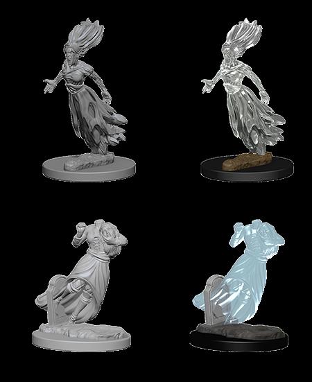 W1 Ghosts WZK72564 Dungeons /& Dragons Nolzur`s Marvelous Unpainted Miniatures