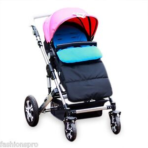 Babies Footmuff Sleeping Bag Cold-proof Stroller Mat Foot Cover Water Resistant