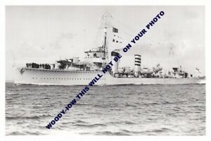 rp11735 - Royal Navy Warship - HMS Codrington  built 1930 lost 1940 - print 6x4