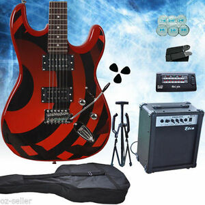 Bettle-Stripe-Multiple-Pickup-Electric-Guitar-with-Amp-Set