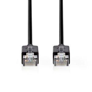 NEDIS-Cat-5e-UTP-Cable-De-Red-RJ45-8P8C-Macho-a-Macho-RJ45-8P8C-3m-Antracita