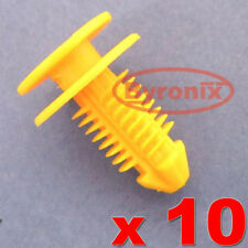 ROVER 45 MG ZS SILL KICK PLATE COVER TRIM CLIPS FASTENERS