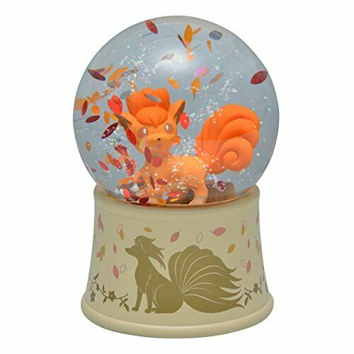 Pokey Center Original Snow Globe Vulpix Rokon från japan