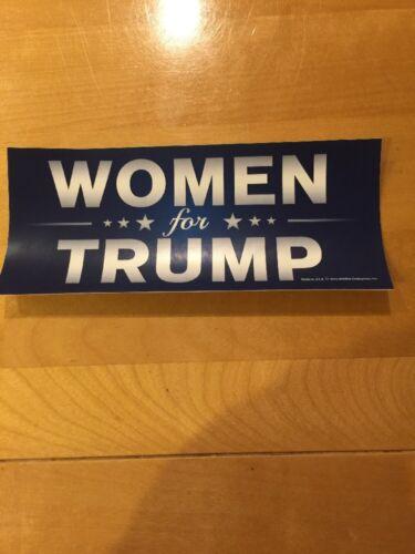 WOMEN FOR DONALD TRUMP STICKER President I/'m a girl woman