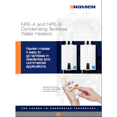 Navien NPE-210A Premium Condensing Advanced Tankless Gas Water Heater