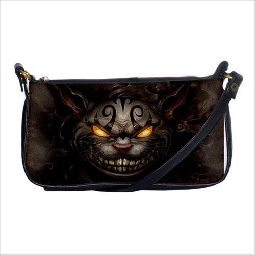 Alice Retour Cheshire Cat Bandoulière Clutch Sac à main /& Mini Porte-monnaie