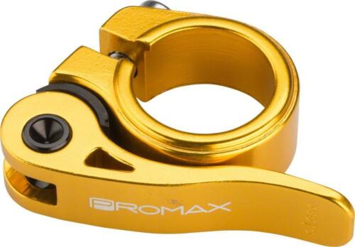 Promax QR-M Quick Release Seat Clamp 25.4mm Gold