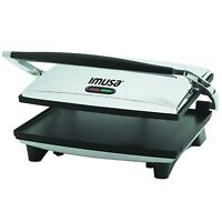 Imusa, Gau-80102, Electric Panini And Sandwich Maker, Nonstick Panels , New, Fre on sale
