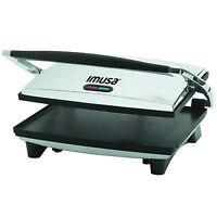 Imusa, Gau-80102, Electric Panini And Sandwich Maker, Nonstick Panels , New, Fre