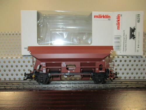 Märklin H0 46319 offener Güterwagen Selbstentladewagen 647 857 der DB in OVP