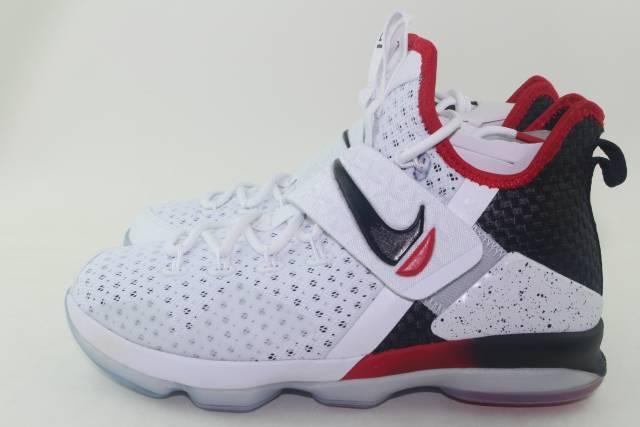 Assorted Sizes NWB Nike LeBron XIV White//Black//Red Men/'s Basketball Shoes