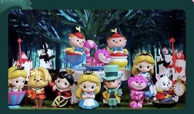 Alice in wonderland pop mart design toy blind box 12pcs New sealed Disney