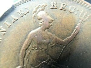 1854-G-Britain-Penny-Plain-Trident-XF-Details-NGC-Coin