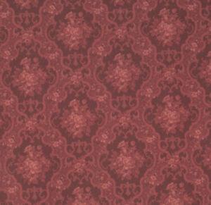 Image Is Loading 1 12 Scale Elegant English Rose Dollhouse Wallpaper