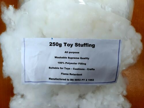 100/% Polyester Supreme Quality 250g Toy Stuffing Filling,Teddy Bear,Cushions
