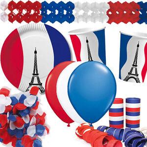 Frankreich Mottoparty Party Deko Franzosische Nacht Paris France