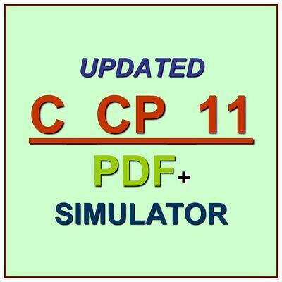 Latest SAP C/_PO/_75 Verified Practice Test Exam QA SIM PDF+Simulator