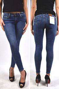 W24 Dunkelblau 8 D74 Pepe Röhre Lola Waist 7 High Jeans Neu Skinny UtPqwBt