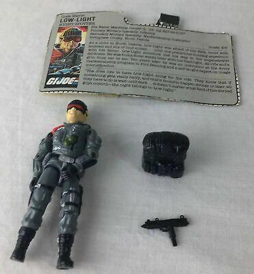 G.I ZANDAR GUN 1986 ORIGINAL ARAH JOE
