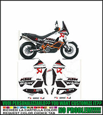 kit adesivi stickers compatibili 950 990 adventure akrapovic