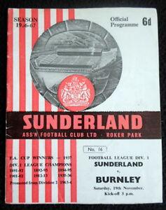 Sunderland-v-Burnley-19-11-1966
