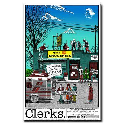 Clerks 24x36inch Movie Silk Poster Art Print Hot Wall Decoration