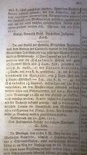 1811  Anzeiger Bayreuth 18b / taschner zu Welkendorf