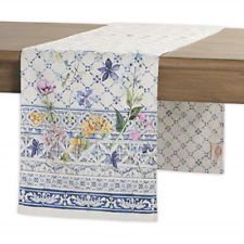 Maison d Hermine Colmar 100/% Cotton Table Runner 14.5 inch by 72 inch.
