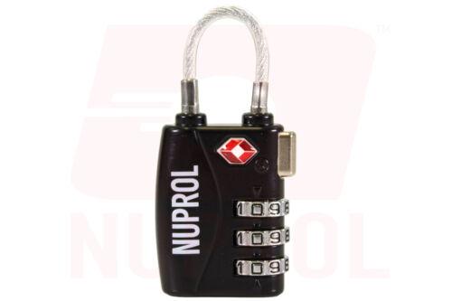 Nuprol Padlock /& Case Lock Combination Locks for Airsoft /& MILSIM Items