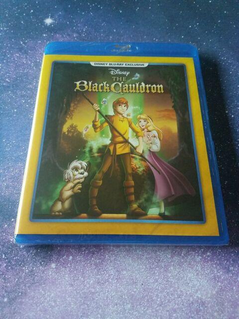 DISNEY The Black Cauldron Blu-ray Exclusive NEW