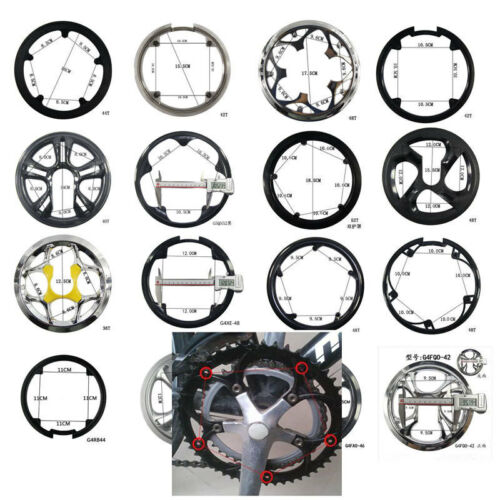 36404244464852T Bike Bicycle Sprocket Cranksets Chainring Guard Protector