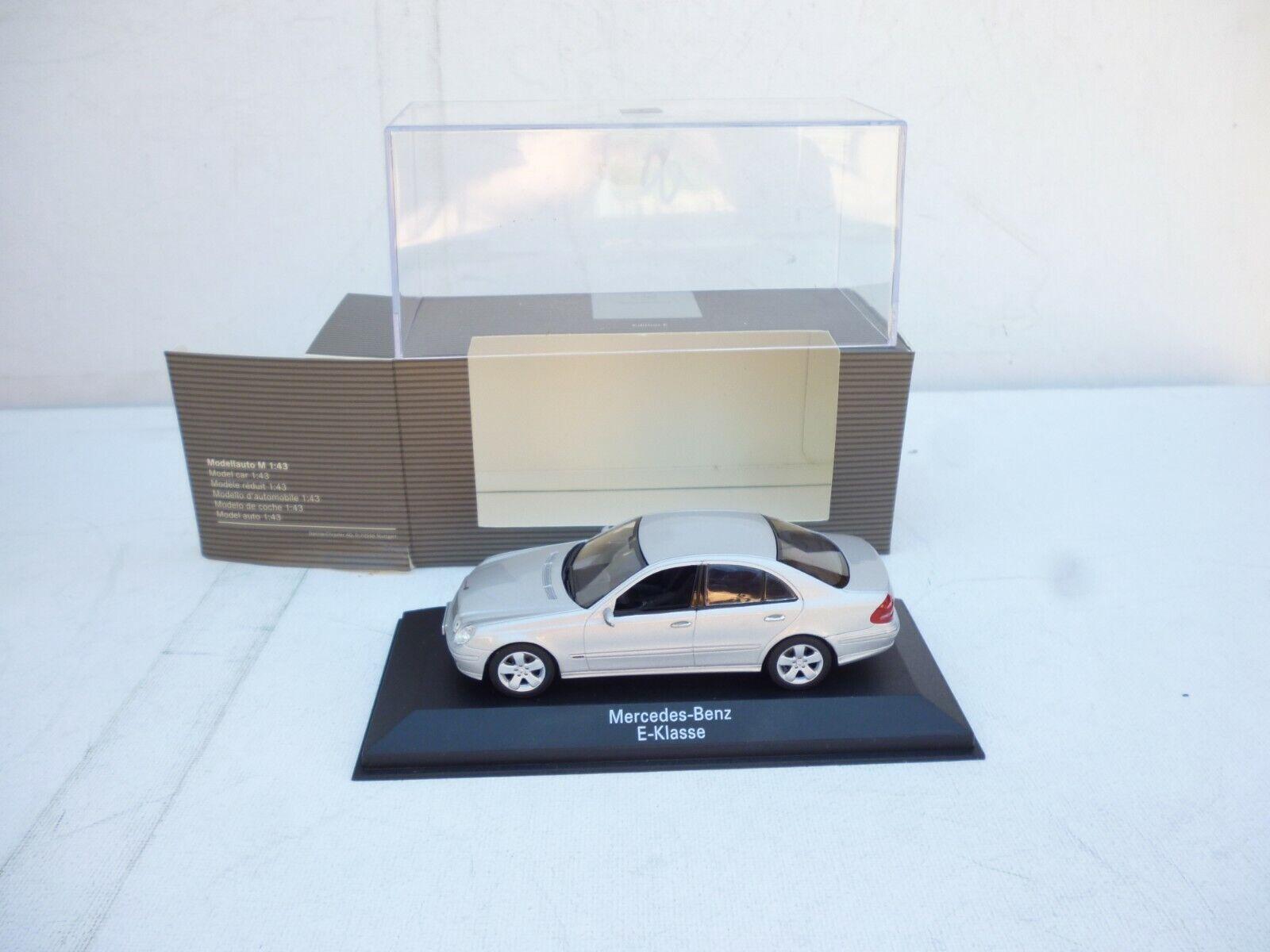 shopping online e negozio di moda Minichamps Mercedes-Benz E-Klasse  grigio argentooo 1 43 43 43 nuovo Dealer scatola    negozio a basso costo