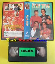 VHS TAKE THAT fans club italy SIRIO UNIVIDEO robbie williams no cd mc dvd (VM6)