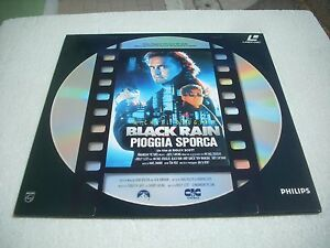 PIOGGIA SPORCA - BLACK RAIN / IL FILM Italia laserdisc - Italia - PIOGGIA SPORCA - BLACK RAIN / IL FILM Italia laserdisc - Italia