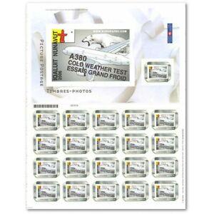 COLLECTOR CANADA A380 (2006) PORT PAYÉ RÉGIME INTÉRIEUR TIMBRES AUTOADHÉSIFS