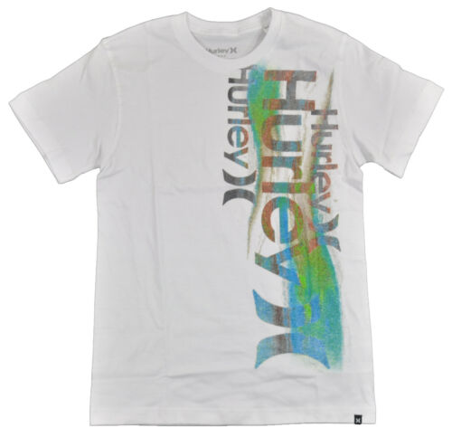 Hurley Big Boys S//S White /& Multi Color Top Size 18//20 $18