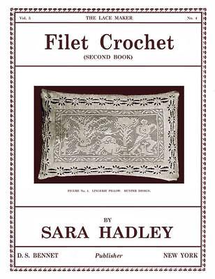 Collingbourne #10 c.1912 Vintage Filet Crochet Designs